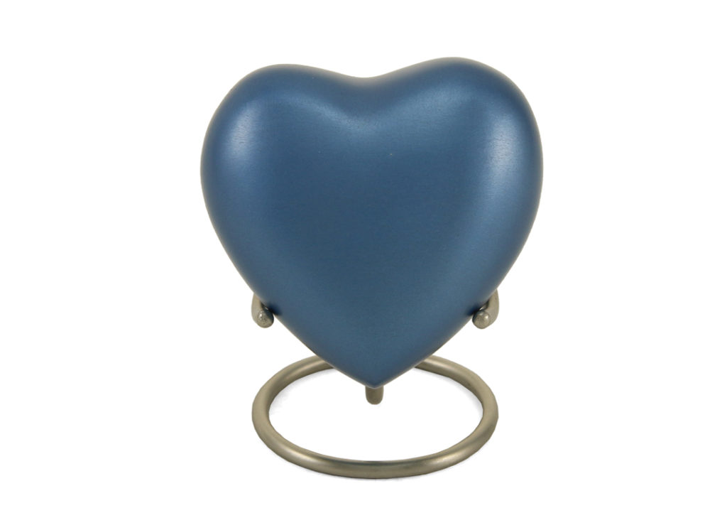 Keepsake Heart - Blue Image